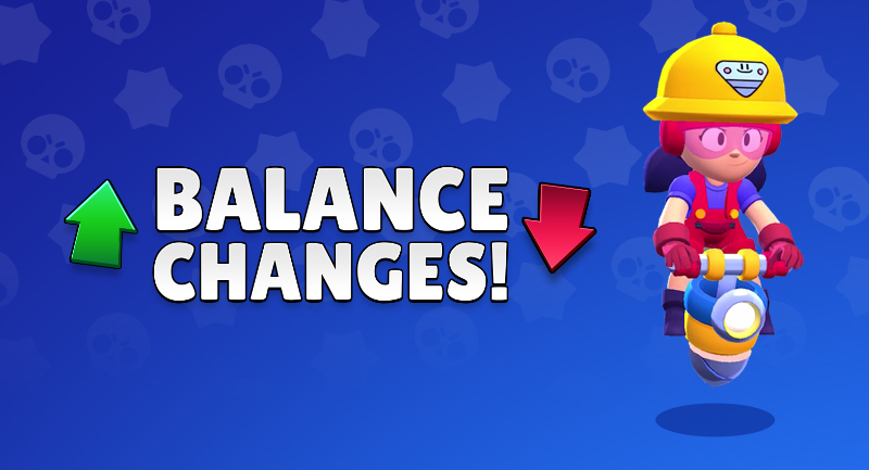 APRIL BALANCE CHANGES - THE BIG ONE! Brawl Stars UP!